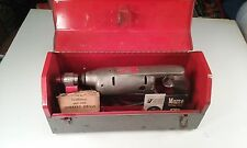 """Vintage Dunlap Electric Drill with Custom Tool Box & Some Vintage Bits """"Working"""""""