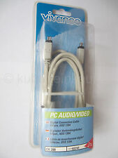 FireWire 1394a-Stecker 4-pol. Kabel