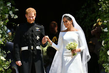 "PRINCE HARRY AND MEGHAN MARKLE WEDDING BOUQUET PIC FRIDGE MAGNET 5"" X 3.5"""