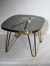 Rockabilly 50s shabby chic-mosaico + OTTONE grondaie FIORI SGABELLO tavolo 50er