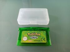 NEW POKEMON LEAF GREEN GBA GAMEBOY ADVANCE CARTRIDGE REPRO