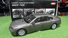 BMW 745 i séries 7 gris Gray 1/18 KYOSHO 08571SG voiture miniature de collection