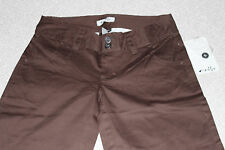 OAKLEY New Authentic Women Summer Day Capri Regular Fit Earth Brown Size 6