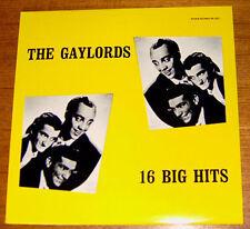 THE GAYLORDS sing 16 BIG HITS! Rare LP