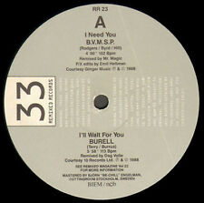 VARIOUS (S'EXPRESS, JELLYBEAN, DEREK B) - 1988 Remixed Records 23 - RR 23