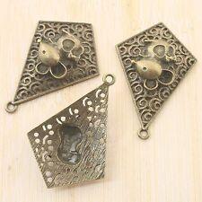 2pcs antiqued bronze mouse design pendant G1672