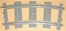 Lego Eisenbahn 1 Schiene (Kurve) alte Version (9 V)