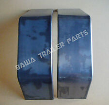 Trailer Mudguards-9 inch Wide -2 Fold Single Axle Mudguard! Smooth Finish!