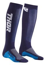 Thor MX Motocross Youth MX Cool Socks (Navy/White) 1-6