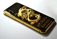 24K Gold Plated over iPhone X- 256GB (Unlocked) super luxury