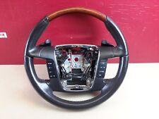 2009-2010 Ford Flex Steering Wheel Wood grain W/ Pedal Shifter OEM