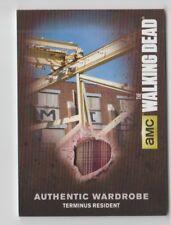 The Walking Dead AMC Costume Trading Card Terminus Resident M49