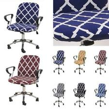 Elastic Stretch Computer Chair Cover Office Rotating Seat Removable Slipcover