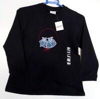 Esprit Girls Long Sleeve Top, Light Sweatshirt, Navy Size UK 6/7, 8/9 Years