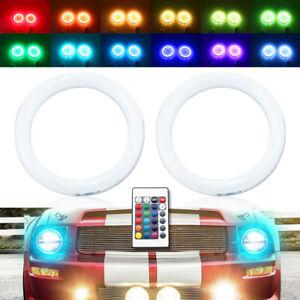 IR RGB LED halo rings for Ford mustang 2005-2009 car Headlight LED angel eye DRL