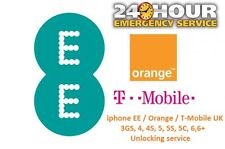IPhone EE/Orange/T-Mobile UK 7/7+ Plus Entriegelung Service Express