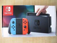 Nintendo Switch - 32GB Gray Console (Neon Red/Neon Blue Joy-Con)
