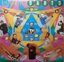 DARTS LP EVERYONE PLAYS DARTS 1978 MADE IN ENGLAND