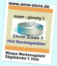 2 Stück Sägeband 2225x6,10x0,65mm Bandsägeblatt Holz Metabo Elektra BAS 317 - Ko