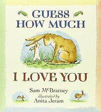 SAM MCBRATNEY ___ GUESS HOW MUCH I LOVE YOU___ BRAND NEW ___ FREEPOST UK