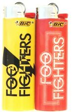 Foo Fighters Bic Lighters 2 Pack Limited Edition Collectors Gift Item