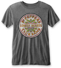 The Beatles 'Sgt Pepper Drum' Burnout T-Shirt - NEW & OFFICIAL!