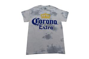 Corona Mens Corona Extra White Tie Dye Shirt New S, M, L, XL