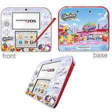 Shopkins Vinyl Skin Sticker for Nintendo 2DS