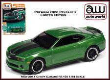 Auto World New Premium '11 Chevy Camaro RS/SS 1:64th Scale Diecast Car