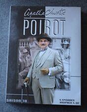 Hercule Poirot - Agatha Christie, saison 10 - 4 DVD