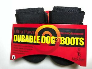 Ultra Paws Durable Dog Boots Size SMALL Washable Reusable NEW