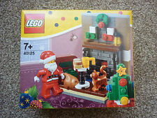 LEGO 40125 Santa's Visit (Brand New & Sealed)
