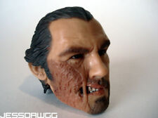"""Jonah Hex head sculpt from 13"""" figure by DC Direct for 1/6 12"""" western cowboy"""