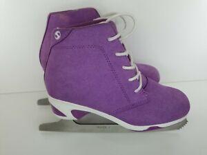 Jackson Ultima Softec Diva Purple Women's Figure Ice Skates Womens Size 6