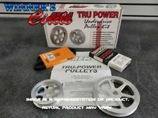 Closeout: AEM 23-7004C Tru-Power Pulley Kit for Honda Civic SI 99-00