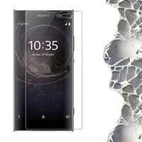 """Pellicola VETRO trasparente protezione display schermo per Sony Xperia XA2 5.2"""""""