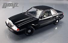 1/18 GMP 1992 Ford Mustang 5.0 FBI Pursuit noirci limitée to 948pc