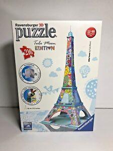 **NEW** Ravensburger Tula Moon Eiffel Tower Paris - 3D Puzzle (216-Piece)