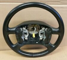 2002 VW Jetta 4-Spoke Black Leather Steering Wheel Jetta vr6