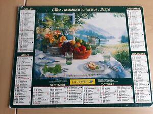 Calendrier Ptt 2022 Almanach poste | eBay