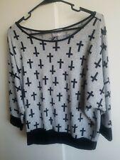 Gothic Cross Shirt (Medium)