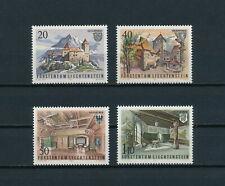 Liechtenstein  718-21  MNH,  Gutenberg Castle,  1981