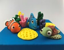 Nemo Dory Squirt Turtle Edible 3D Cake Toppers Decorations Figurines Birthday