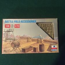 Military Minitures Battle Field Acessories Model Kit Miniatures NIB Unsealed