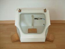 Schleifbox neu mit Beleuchtung, Luftdüse & Absauganschluss TK1