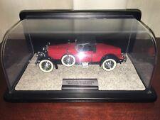 1928 Stutz Black Hawk Boat tail Speedster Diecast Model 1:24 Franklin Mint 1988