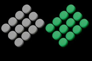 Glow-in-the-dark 6.53mm Inlay Dots