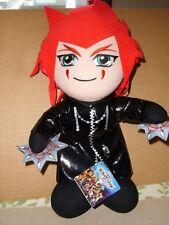 PS2 Kingdom Hearts II AXEL Plush Stuffed Doll New with Tag 2008 DISNEY 13''