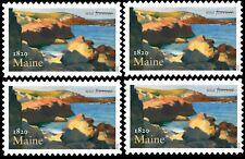 2020 US Stamp - Maine - Block - SC# 5456