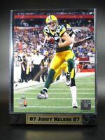 Jordy Nelson Green Bay Packers Logo Holz Wandbild 30cm,Plaque NFL Football ,Neu